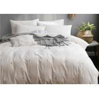 Real Simple Washed Twin Size Bedding Sets Soft 4 Pcs 100% Cotton Sample Available Manufactures