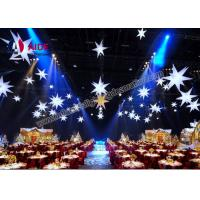 Weeding Inflatable LED Star , Spiky Stars Inflatable Balloon Free Shipping Manufactures