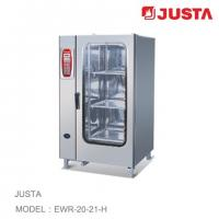JUSTA Electric Baking Ovens 20-Tray 40-Pan Combi Steamer Computer Control System Manufactures