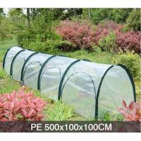 PE Five Door In The Side Pop Up Greenhouse Tent Grow Tunnel For Plants And Flowers 13 KGS Each in an oxford Manufactures