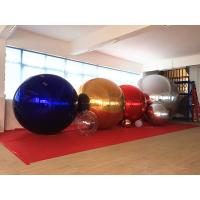 Popular Decoration Sliver Inflatable Mirror Ball / Inflatable Stainless Steel Spheres Manufactures
