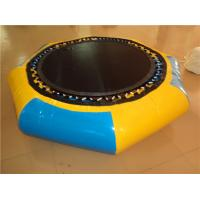 Indoor Huge Trampoline Inflatable Water Toys PVC Jump Cloth Material , Long Lifespan Manufactures