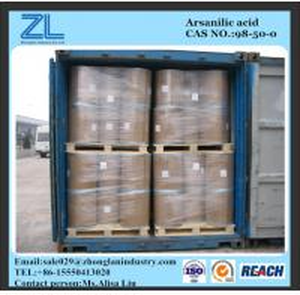 p-Arsanilic acid used for Veterinary medicine API,CAS NO.:98-50-0 Manufactures