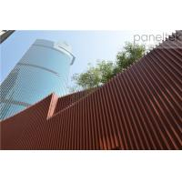 China Terracotta Architectural Facade Systemspanels and baguette easy installation new trendy material on sale