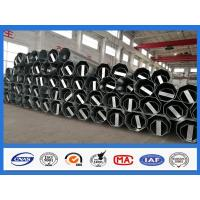 30FT 40FT Octagon Shape Galvanized Electric Steel Pole for Philippines Electricity Transmission Line Manufactures