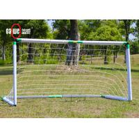 Sturdy Football Goal Nets PP Fiber Plastic Material Easy To Set Up 2 Sizes Manufactures