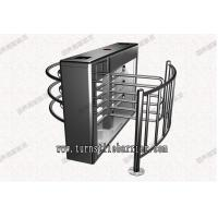 Quality Automated Full Height Turnstiles Gates, Card Reader Turnstile System for sale