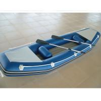 Quality Customized Inflatable Sea Kayak 2 Person Inflatable Boat With Airmat Floor for sale