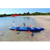 Quality 380cm Custom Paddle Boards SUP Sit On KAYAKA With 8 D Rings 2 Kayak Seats for sale