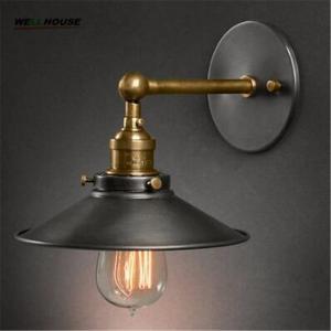 American vintage wall lamp indoor lighting bedside lamps wall lights for home diameter 22cm 110V/220V E27 Manufactures