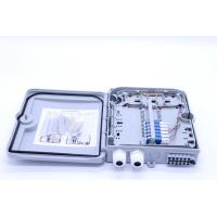 12 Cores ABS Fiber Optic Distribution Box Splitter ABS Material ISO Approval Manufactures