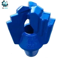 """TC Tipped 7 7/8""""(200mm) With 3 1/2"""" API REG Tungsten Carbide Stepped Crown Blade Drilling Drag Bit For Hard Limestone Manufactures"""