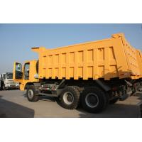 70 Tons HOWO Mining Tipper Dump Truck 371HP High Strength Steel Cargo Body Manufactures