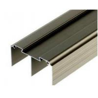 Golden / Silver Anodized Profile Aluminum Extrusions For Curtain Wall Manufactures