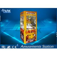 Aluminium Frame Chocolate Box Claw Crane Game Machine Lower Working Consumption Manufactures