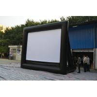 Retractable Large Inflatable Movie Screen , blow up tv screen outdoor Manufactures