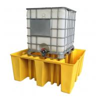 IBC Tank Storage Safety Spill Pallet, PE Spill Containments For IBC Tank Storage Manufactures