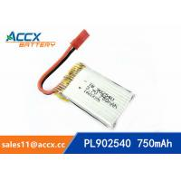 rc helicopter battery 3.7v 902540 li polymer battery 750mah 25C high rate battery pl902530 Manufactures