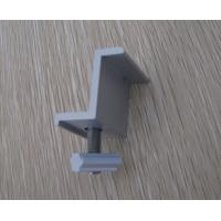 End Clamp for Solar Roof Mounting Systems / Solar Panel System Fixing With T Bolt and Nut Manufactures