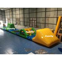 Swimming Pool Kids Inflatable Water Toys Green / Yellow 16.5 * 2 m 3 Years Warranty Manufactures