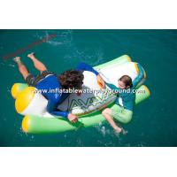 Single Lane Water Sports Inflatable Water Seesaw On Swimming Pool / Lake Manufactures