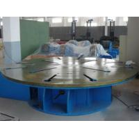 Steel Automatic Welding Machine Max Loading 5 Tons Horizontal Rotary Table Manufactures