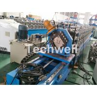 Top Furring Channel Cold Roll Forming Machine With Continuous Servo Tracking Cutting Manufactures