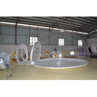 5m Dia Clear Pvc Inflatable Party Tent For Outdoor Picnics 4 x 16 x 2.5m Manufactures