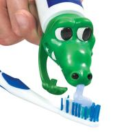 PVC Spread Heads Toothpaste Caps Toy Cat Head With Cartoon Patterns Manufactures