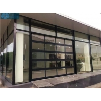 Buy cheap Aluminium Frame Glass Panel Commercial Sectional Doors For Showroom from wholesalers