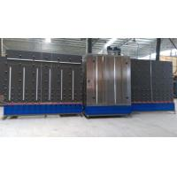 Vertical Low - E Automatic Glass Washer Machine With Plc Control System Manufactures