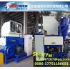 High quality PPPE RUBBER PET single shaft shredder machine waste shredder machine PE PP film shreedering Manufactures