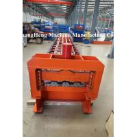 CNC Floor Deck Roll Forming Machine 10m / min Door Frame Making Machine Manufactures