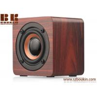 Bluetooth Speaker Wooden with 6h Play Time, Wireless Computer Speaker with Enhanced Bass Resonator Manufactures