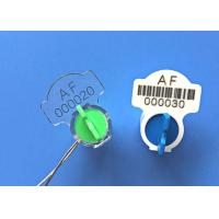 Buy cheap Twist Rotor Electricity Meter Seals Meter Accessories With Barcode Poly Carbonate from wholesalers