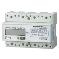 RS485 Modbus Three Phase Energy Meters ,  Electronic kWH Meter With CT operated Manufactures