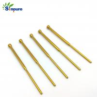 China Thin Wall Straight Flexible Brass Copper Tube Small Diameter With Smooth Surface on sale