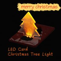 Christmas Decoration Pocket Folding Xmas Tree Shape LED Light Manufactures