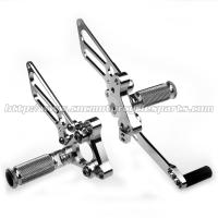 CNC Aluminum Alloy Motorcycle Rear Sets , Motorcycle Replacement Parts Manufactures