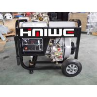 haiwe power 5.5kw diesel generator set open frame top quality with handle and wheels ! Manufactures