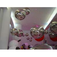 2 M Diameter Large Inflatable Mirror Ball For Opening Event , Parade The Color Can Be Costomizsed Manufactures