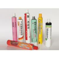 Soft Empty Toothpaste Tubes , Colorful  Hand Cream Empty Aluminum Tubes Manufactures