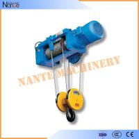 High Efficiency 0.5 Ton / 1 Ton Electrical Wire Rope Hoist For Mining / Factory / Dock Manufactures