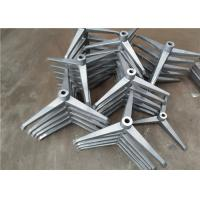 Green Sand Casting Cast Iron Components Shot Blasting Surface For Chairs / Desks Manufactures