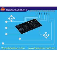 Flat Keypad Waterproof Backlit Membrane Switch Panels With Metal Dome Manufactures