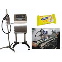 Counter Mark Industrial Inkjet Printer , CIJ Inkjet Printer With LCD Display Manufactures