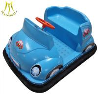 China Hansel hot-selling amusement park rides electric bumper ridding cars for kids on sale