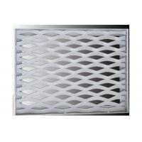 China Interior Expanded Metal Facade Panels, Exterior Decoration Aluminum Mesh Screen on sale