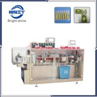 DSM 5 filling head Plastic Ampoule Bottle Filling Capping and Labeling Machine production line Manufactures