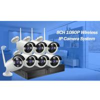 8CH HD WiFi Wireless Indoor Outdoor Home Security Camera System wifi nvr kit 720P Manufactures